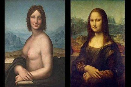 """""""Монна Ванна"""" и """"Мона Лиза""""."""