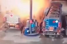 Взрыв на нефтебазе под Челябинском
