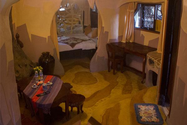 """Необычный дизайн номеров в отеле """"Crazy House"""" в Далате."""