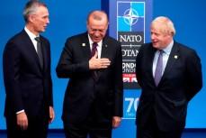 Президент Турции Реджеп Тайип Эрдоган и генсек НАТО Йенс Столтенберг