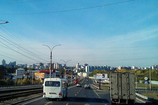 Общественный транспорт Барнаула.