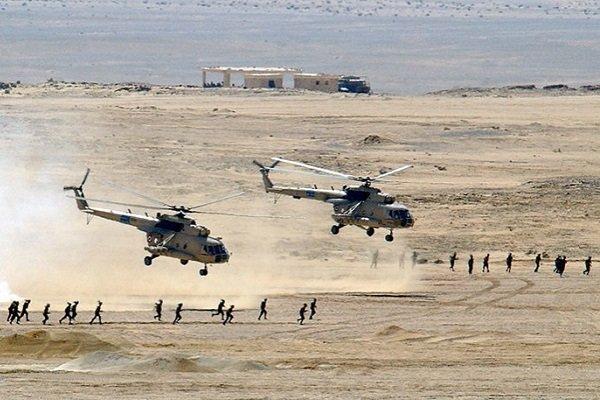 Египетские вертолеты советского производства Mi-8 Hip