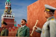 Гитлер проводит парад на Красной площади