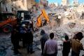 Разрушенная Сирия.