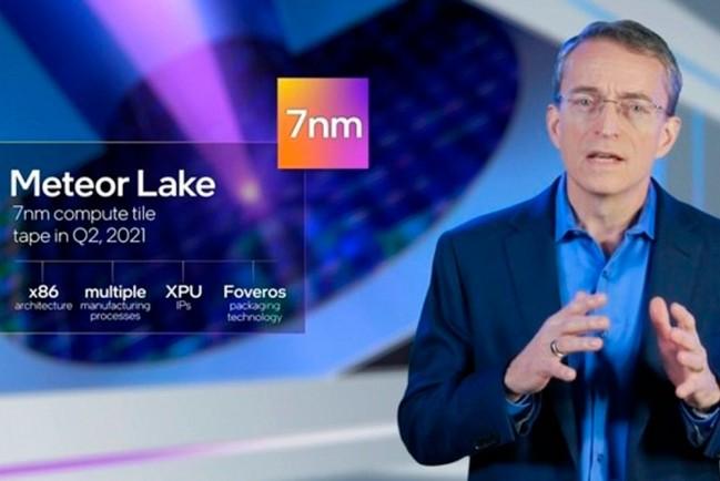 Intel планирует выпустить 7 нм процессор Meteor Lake в 2023 году