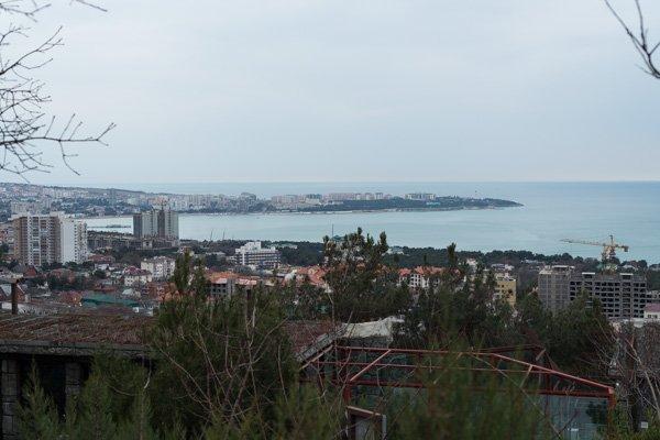 Вид на Геленджик из «Сафари-парка»