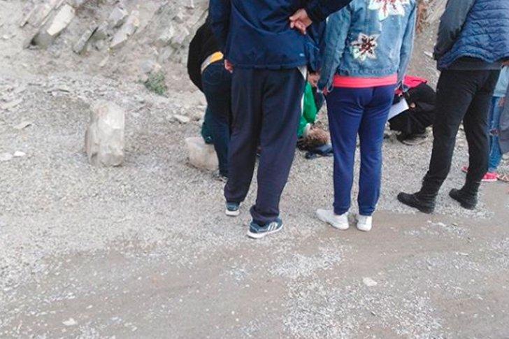В Геленджике от камнепада пострадала девочка