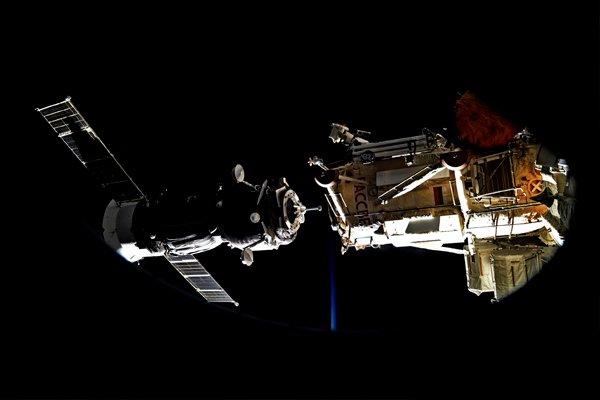 Стыковка корабля «Союз МС-05» с МКС