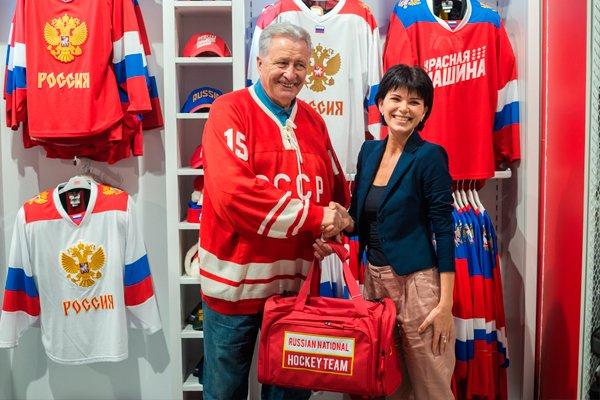 Легендарный советский хоккеист Александр Якушев
