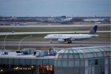 Самолёт авиакомпании United Airlines.