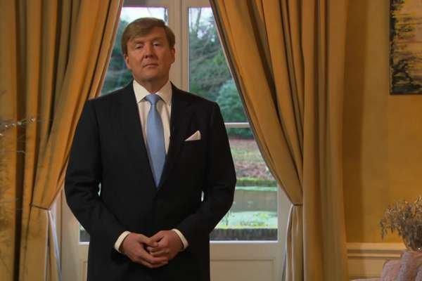 Король Нидерландов Виллем-Александр.