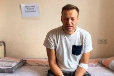 Алексей Навальный в больнице, после подозрения на отравление в спецприемнике