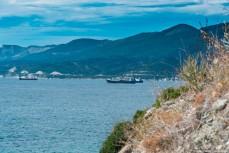 Корабли на рейде в Кабардинке