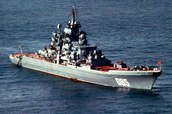 Тяжёлый атомный ракетный крейсер «Адмирал Нахимов» (ТАРКР) - атомный ракетный крейсер проекта 1144 «Орлан» Северного флота России
