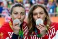 Россиянки Анастасия Войнова и Дарья Шмелева.