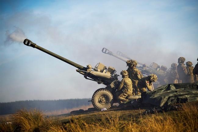 Артиллерия Великобритании
