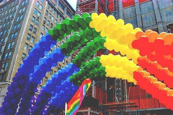 Радуга-символ ЛГБТ сообществ