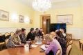 Рабочая встреча по развитию культурного обмена между Россией и Швецией.