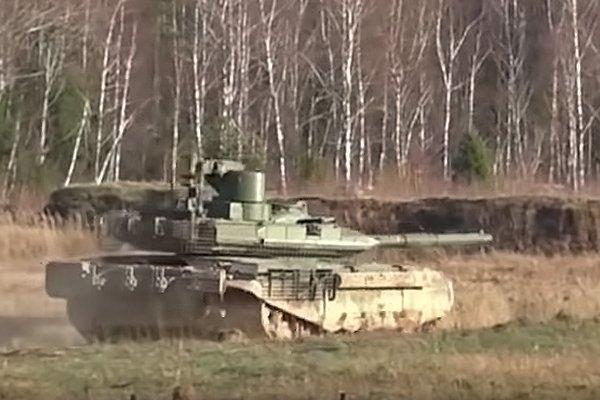 Испытание танка Т-90М
