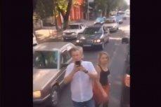 Конфликт на одной из дорог Алма-Аты