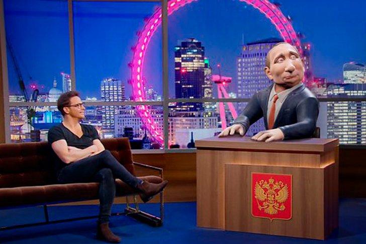 Анимированный Путин в роли ведущего появится в шоу ВВС