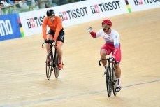 Денис Дмитриев на Чемпионате мира по велоспорту.