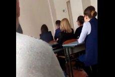 Собрание учителей на котором их принуждали голосовать за Порошенко