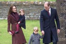Принц Уильям с супругой Кейт Миддлтон и детьми.