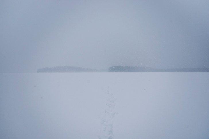 Шайтанское озеро на Урале