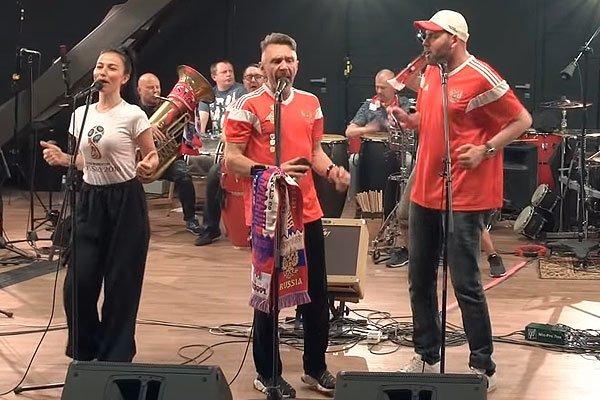 Сергей Шнуров и Семён Слепаков
