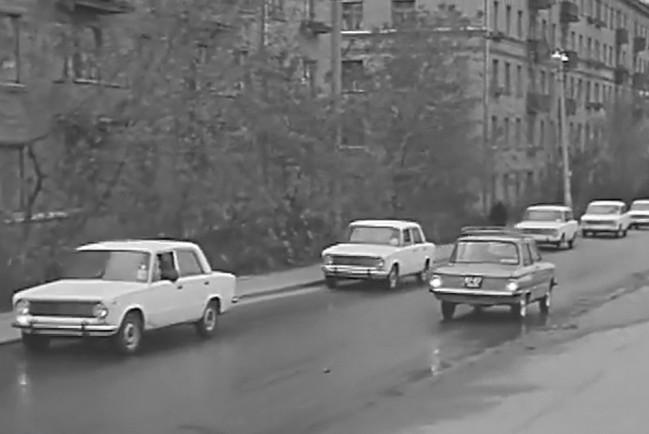 Первые «Жигули» ВАЗ-2101 появились в Москве