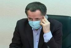 Врио губернатора Белгородской области Вячеслав Гладков не смог записаться к себе на приём