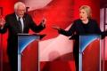 Хиллари Клинтон и Берни Сандерс.