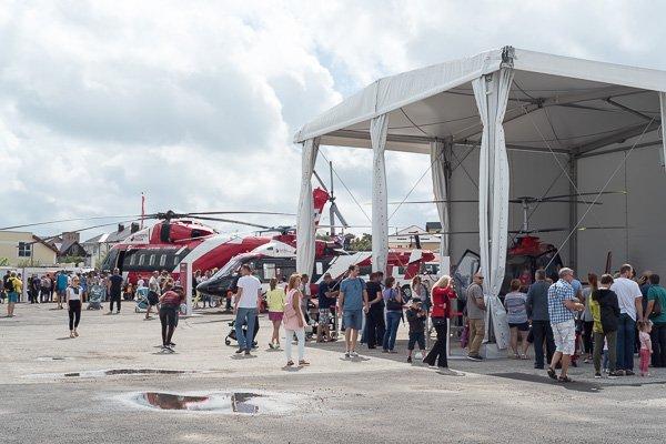 Экспозиция вертолётов на «Гидроавиасалоне-2018»