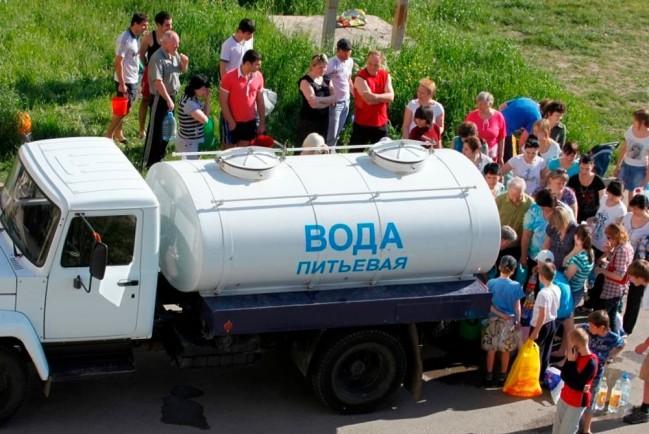 В Крыму нет питьевой воды