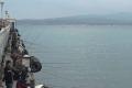 Соревнование по парусному спорту в бухте Геленджика.