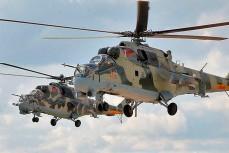 Белорусские вертолёты, атаковавшие воздушные шары