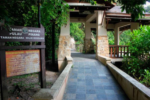Национальный парк острова Пинанг (Пенанг) – это Taman Negara Pulau Pinang.