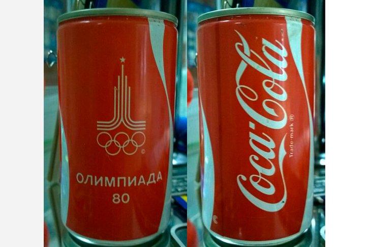 Coca-Cola - спонсор олимпийский игр в СССР 1080 года
