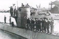 Экипаж немецкой подводной лодки времён Второй мировой войны