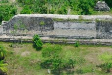 Панорамный вид археологического района Кулуба, Юкатан