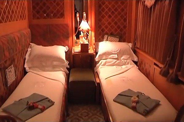 Шикарные спальные места в Eastern & Oriental Express