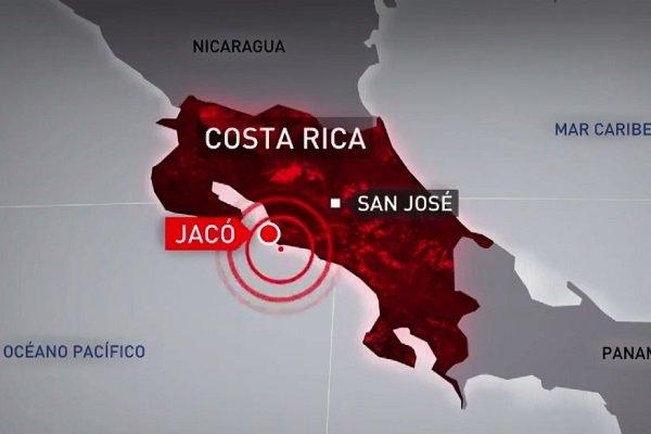 ВКоста-Рике случилось  землетрясения магнитудой 6,5
