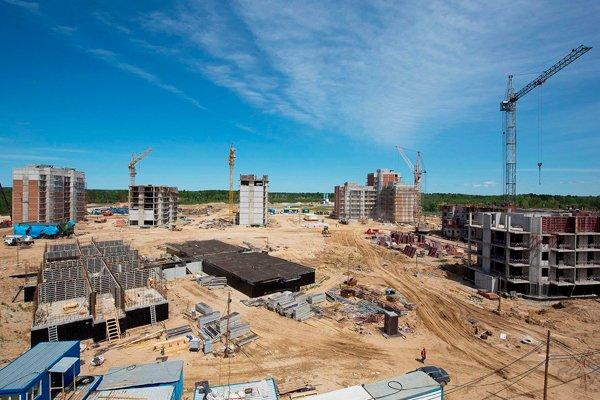 Строительство космодрома июль 2015