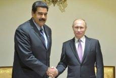Президент России Владимир Путин и глава Венесуэлы Николас Мандуро