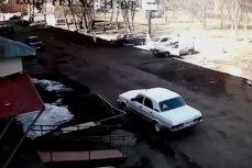 Взрыв кислородных баллонов в автомобиле