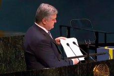 Президент Украины Пётр Порошенко на Генассамблее ООН