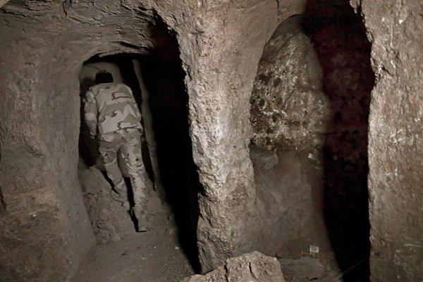 Туннели под гробницей пророка Иона