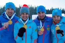 Финалисты Чемпиона Европы по биатлону.