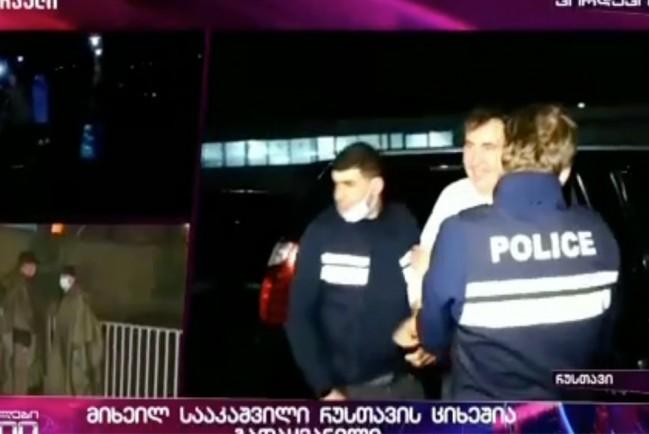 В Грузии задержали бывшего президента страны Михаила Саакашвили.